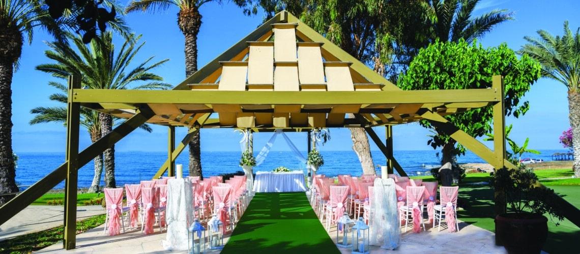 90 ATHENA BEACH HOTEL WEDDING GAZEBO